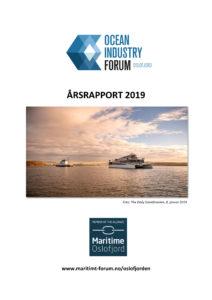 Ocean Industry Forum Oslofjorden Årsrapport 2019